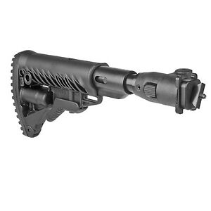 Fab Defense Shock Absorbing Folding Buttstock for Milled Receiver - AKMIL P SB