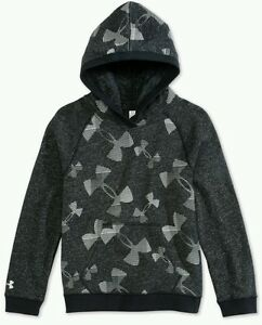 Under Armour Youth Girls Kaleidologo Fleece Hoodie Small