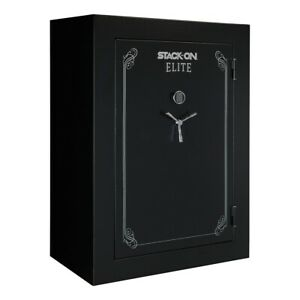 Stack-On E-90-MB-E-S-72 Elite Fire-Resistant 90-Gun Safe with Electronic Lock