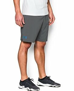 Mens Under Armour Hiit Shorts Graphite 040 X-Large