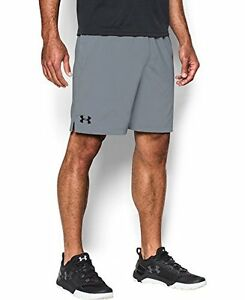 Mens Under Armour Hiit Shorts Steel 036 3X-Large