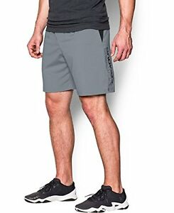 Mens Under Armour Hiit Shorts Steel 035 3X-Large