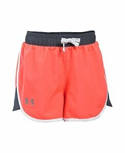 Under Armour Girls Fast Lane Shorts After Burn 877 Youth Medium