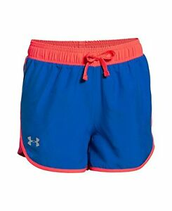 Under Armour Girls Fast Lane Shorts Ultra Blue 907 Youth Medium