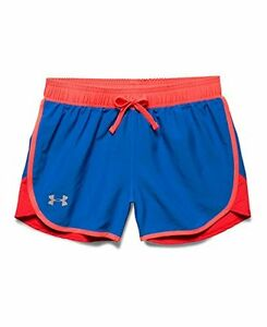 Under Armour Girls Fast Lane Shorts Ultra Blue 907 Youth X-Large