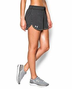 Womens Under Armour Tech Shorts Carbon Heather 091 XX-Large