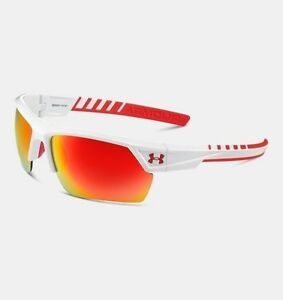 Under Armour Igniter 2.0 Shiny White Frame W  Red Rubber  Gray W  Orange Mult