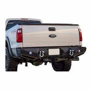 Smittybilt M1 Rear Bumper with D-ring Mounts for 99-16 Ford Superduty 614830