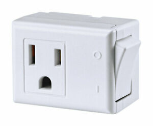 Grounded Switch Tap Wht By Leviton Mfrpartno C22-01470-00W