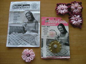 Vintage Easy Daisy Loom with instruction by C.J. Bates in original pack