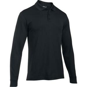 UNDER ARMOUR TAC Performance Polo Longsleeve Size: 3X-Large Color: Black