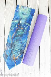 Yoga Mat Bag: Hand-painted