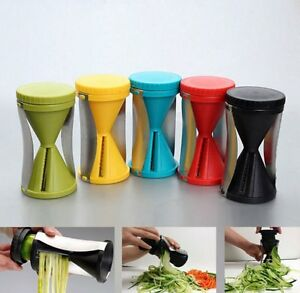 Spiral Slicer Peeler Shred Vegetable Fruit Process Cutter 2 PACK