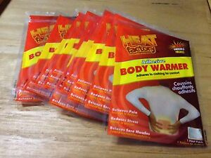 Heat Factory Adhesive Body Warmers 40 Units