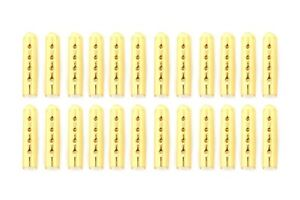 Litlaces Aglet Tips Removable Clamp On Easy to Install Gold Tips 24pc $7.99