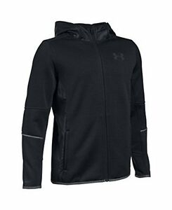Under Armour Boys UA Swacket FZ Black Black  YXL