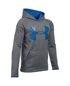 Under Armour Boys AF Storm Highlight Hoody GraphiteULTRA BLUEULTRA BLUE YXL