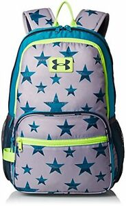 Under Armour Backpack Girls Youth Great Escape Blue Stars 1260542 038 nwt $45