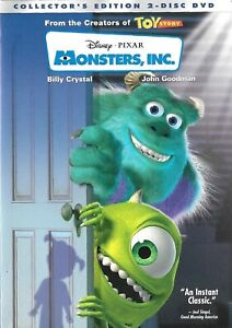 Monsters Inc. Two Disc Collectors Edition DVD 2002 Billy Crystal $4.69