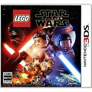 New 3DS LEGO Star Wars: The Force Awakens 3DS Japan Import