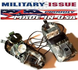 Acu Digital Camo Military Issue MOLLE II Compass Pouch Dip Pouch Grenade Pouch