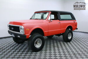 1972 Chevrolet Blazer PORT INJECTED 5.7L V8 TWO TOP CONVERTIBLE 1972 Orange PORT INJECTED 5.7L V8 TWO TOP CONVERTIBLE!