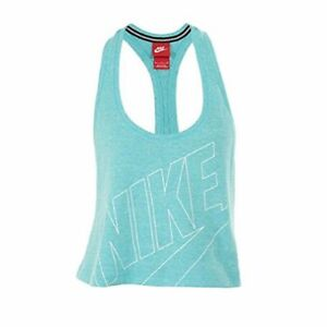 Nike Women's Gym Vintage Cropped Sport Casual Large
