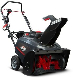 New Snow Thrower Blower with Snow Shredder AugerSingle Stage Electric Start Gas