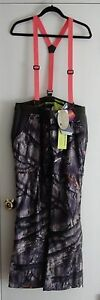 Under Armour 1247076 905 UA Gunpowder Women's Hunting Bib Pants Overalls NWT M