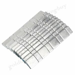 10 x Car Wheel Balance Weights Strip Metal Fits Car truck van motorcycle Silver