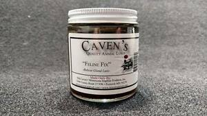 CAVENS FELINE FIX 4 OZ JAR PREDATOR LURE TRAPPING LURE-BOBCAT LURE GLAD LURE