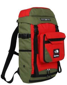 Supreme x The North Face SS16 Steep Tech Backpack Olive 1000% Authentic Box Logo