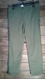 Under Armour Youth Boys Size Yxl green Adjustable Waist golf Pants