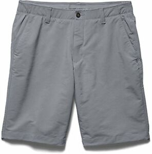 Under Armour Match Play Golf Shorts Steel Gray