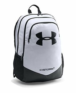 Under Armour Boys' Storm Scrimmage Backpack White 100 One Size