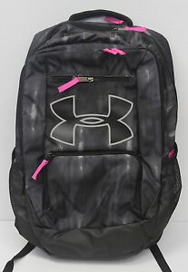 UNDER ARMOUR UA RELENTLESS STORM 1 LAPTOP BACKPACK BLACKPINK DISTRESSED NWT