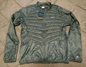 NEW NIKE 800 DOWN AEROLOFT PACKABLE RUNNING JACKET FOR MEN 549557 475 NWT