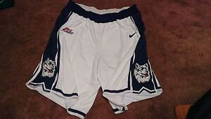 UConn Throwback Nike Authentic Game Worn Team Issued Basketball Shorts 48 +2