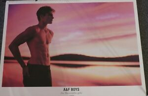Bruce Weber ABERCROMBIE AND FITCH – 1999 Large CALENDAR 24x32 - RARE!