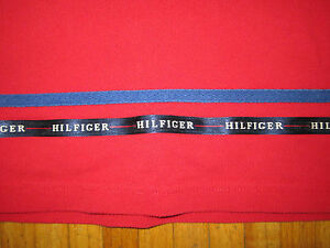 Vtg Tommy Hilfiger Spellout Shirt Mens Large Polo 92 Sport Flag USA patch rugby