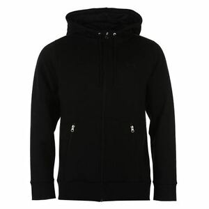 Under Armour Varsity Full Zip Hoody Mens Black Hoodie Jacket Top Sportswear