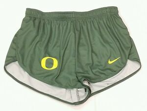 Nike University of Oregon Ducks L DQT Green Victory Shorts Running Mesh Liner