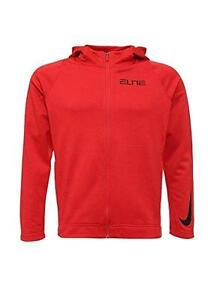 776095-657-L Nike Bball Thrma Elite Hoodie Large Red Men Dry-fit