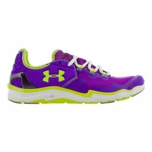 Under Armour Charge RC 2 Shoe - Womens Pride  White  High Vis Yellow 10