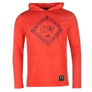 Under Armour Cassius Clay Pullover Hoody Mens RedNavy Hoodie Sweater Sportswear