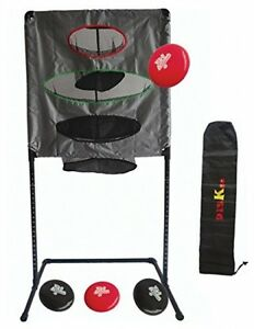 Yard Game Heavy Duty Disc Sporting Goods Outdoor Study Stand Black PVC Pipe
