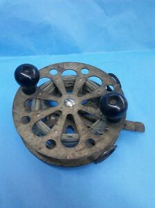 VINTAGE PFLUEGER SKELETON TROLLING FISHING REEL