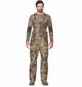 $380 Men's Under Armour Scent Control ColdGear Gore-Tex Camo Bib Snow Pants M