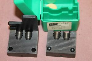 RCBS 82081 Reloading Double Cavity Bullet Mold Original Box 45-225 CAV T.P 552