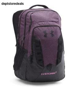 Under Armour Storm Recruit Backpack Verve Violet 723 One Size Ua Technology Slip